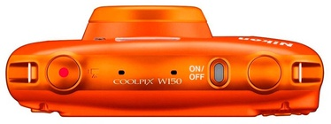 Nikon Coolpix W150 Orange Plus Backpack