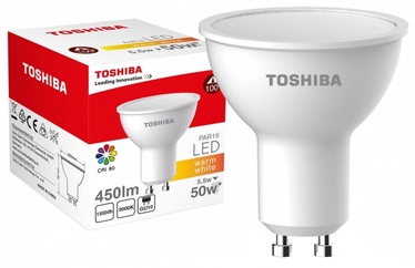 Toshiba LED Lamp 5.5W Warm White