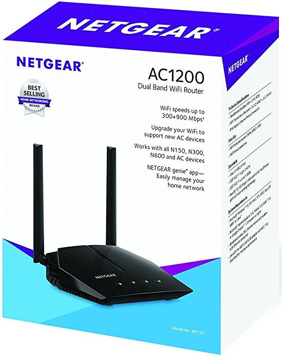 NETGEAR AC1200 Wi-Fi Router