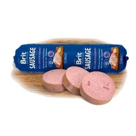 Konservuotas ėdalas šunims Brit Premium Chicken & Rabbit dešra, 800 g