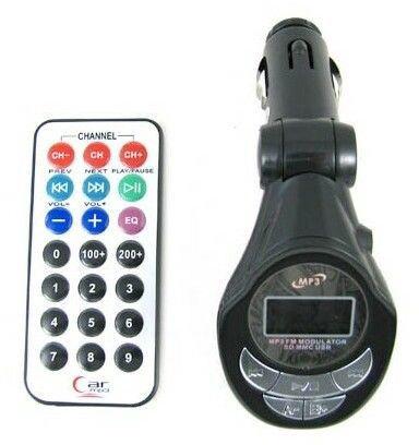 Prolink FM Transmitter + SD Reader