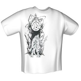 GamersWear Jinx World Of Warcraft Draenei Race T-Shirt White M