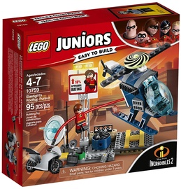Konstruktors LEGO Juniors Elastigirls Rooftop Pursuit 10759