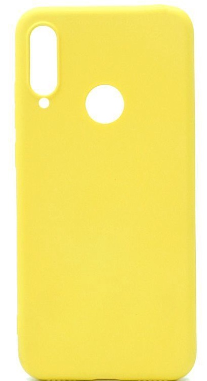 Evelatus Soft Silicone Back Case For Huawei P30 Lite Yellow
