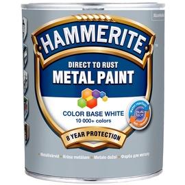 Emaljas krāsa Hammerite, 0.65 l, sarkana