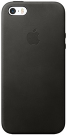 Apple Leather Back Case For iPhone SE Black