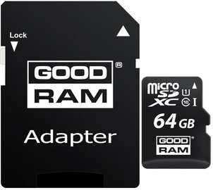 GoodRam M1AA 64GB UHS-I Class 10 + Adapter