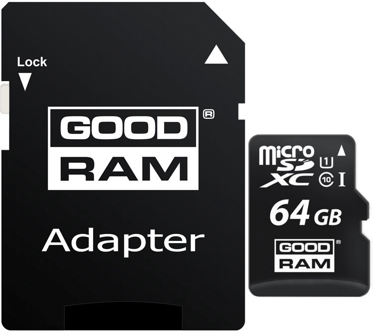 GoodRam M1AA 64GB UHS-I Class 10 + Adapter