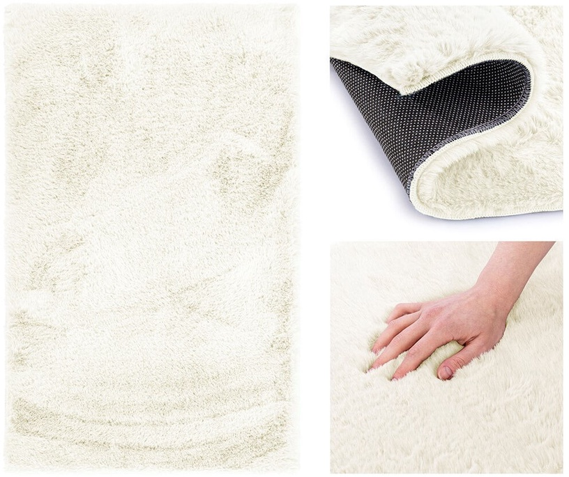 Paklājs AmeliaHome Lovika, balta, 200x140 cm