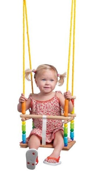 Woodyland Color Swing With Backrest 10317