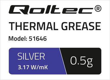 Qoltec Thermal Grease 3.17 W/m-K 0.5g