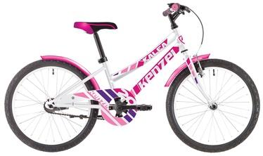 """Jalgratas Kenzel Kalea 20"""" White/Pink"""