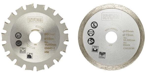 Ryobi Universal Saw Blades 2pcs RAKMMS02K