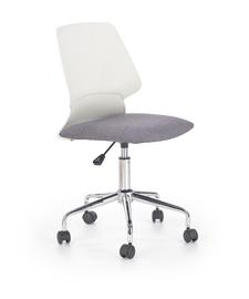 Bērnu krēsls Halmar Skate White/Grey