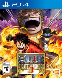 One Piece Pirate Warriors 3 PS4