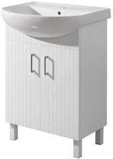 Шкаф для ванной Sanservis Proksi-50 500x880x420mm White