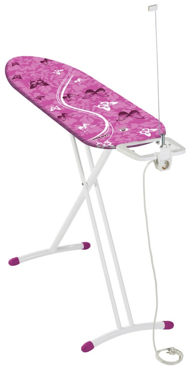 Leifheit Air Board M Solid Plus 120x38cm Pink