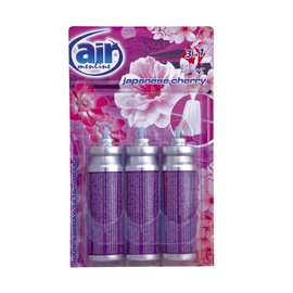 Air Menline Air Freshener Refill 3x15ml Japanese Cherry