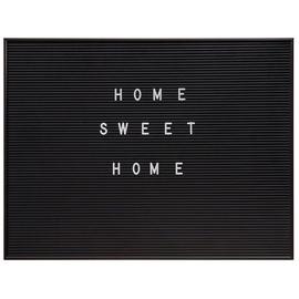 4Living Text Board 60x45cm Black