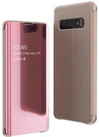 Hurtel Flip View Cover For Samsung Galaxy S10 Plus Pink