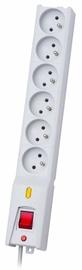 Lestar Surge Protector 6 Outlet Grey 3m