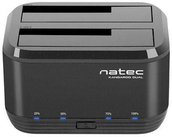 "Natec Kangaroo Dual 2.5""/3.5"" SATA USB 3.0 Black"