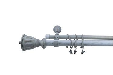Dvigubo karnizo komplektas Futura F516411, 240 cm, Ø 28 mm