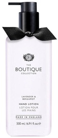 The English Bathing Company Boutique Hand Lotion 500ml Lavender & Bergamot