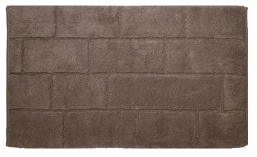 Saniplast Wall Visione Bathroom Floor Mat 55x110cm Brown