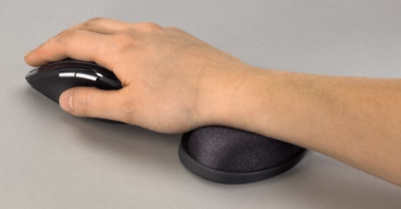 Hama Mini Wrist Rest Anthracite
