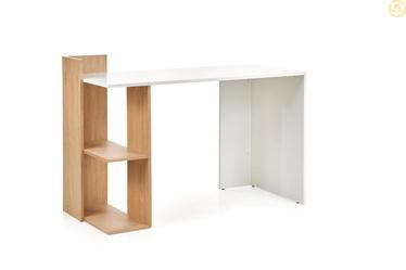 Письменный стол Halmar Fino, белый/дубовый