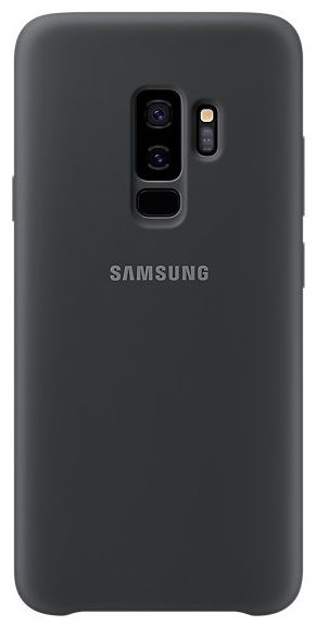 Samsung Silicone Cover For Samsung Galaxy S9 Plus Black