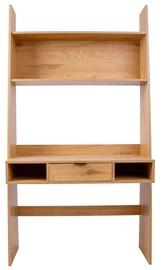 Home4you Berlin Shelf 100x185x45cm Oak