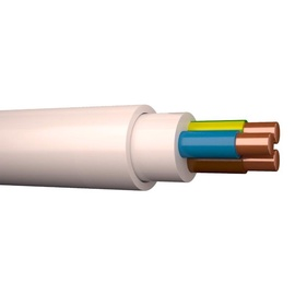 Elektros instaliacijos kabelis Draka XYM-J/NYM, 3 x 1,5 mm²