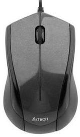 Kompiuterio pelė A4Tech N-400 Glossy Grey, laidinė, optinė