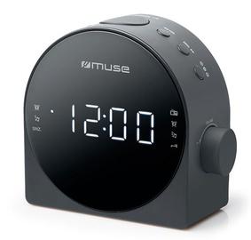 Muse Alarm Clock Radio M-185CR Black