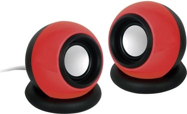 Gembird Stereo Speakers 2.0 Black/Red