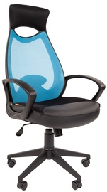 Chairman Chair 840 Black TW-34 Light Blue