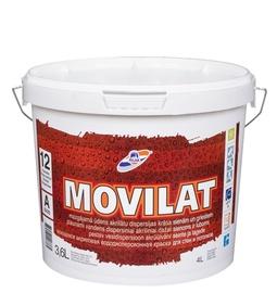 Dispersijas krāsa RILAK Movilat 12, 3.6L, balta