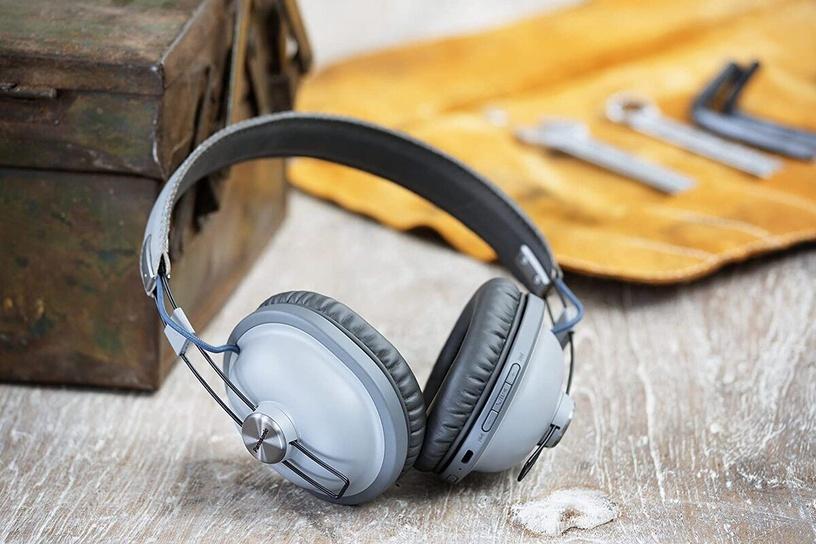Belaidės ausinės Panasonic RP-HTX80BE Grey
