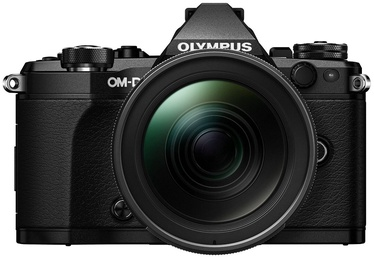 Olympus OM-D E-M5 Mark II Black + 12-40mm F2.8 Lens Black