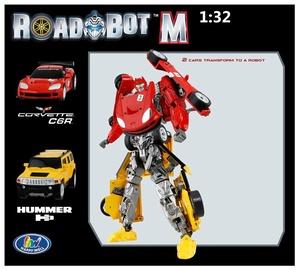 Robotas Corvette ir Hummer 2 in 1