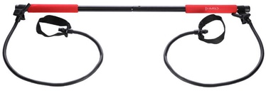 HMS Multifunctional Stick Bar With Rubber Handles Black