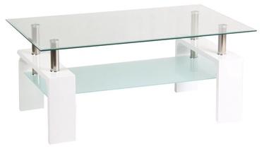 Kafijas galdiņš Signal Meble Modern Lisa Basic II White, 1000x600x550 mm