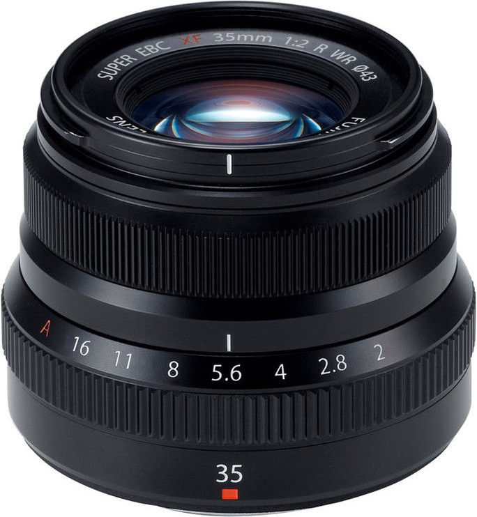 Fujifilm XF 35mm f/2 R WR Black