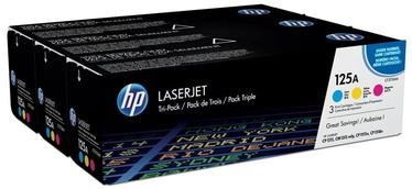 Lazerinio spausdintuvo kasetė HP 125A Color Tri-Pack