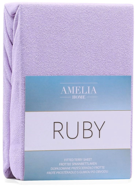 Palags AmeliaHome Ruby, violeta, 120x200 cm, ar gumiju