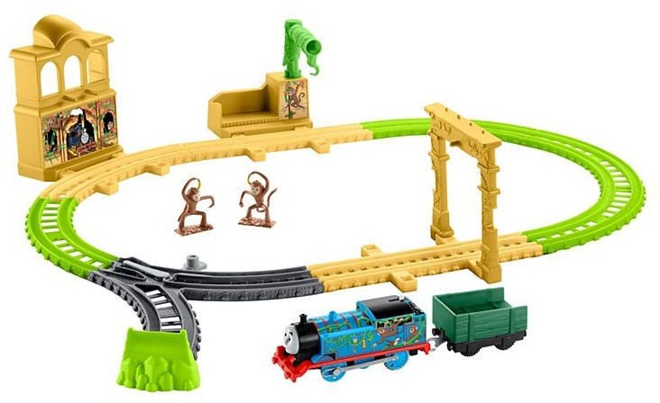 Fisher Price Thomas & Friends TrackMaster Monkey Palace Set FXX65