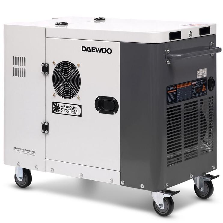 Daewoo DDAE 11000SE Diesel Generator White/Grey