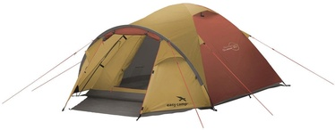 Trīsvietīga telts Easy Camp Quasar 300 120361, sarkana